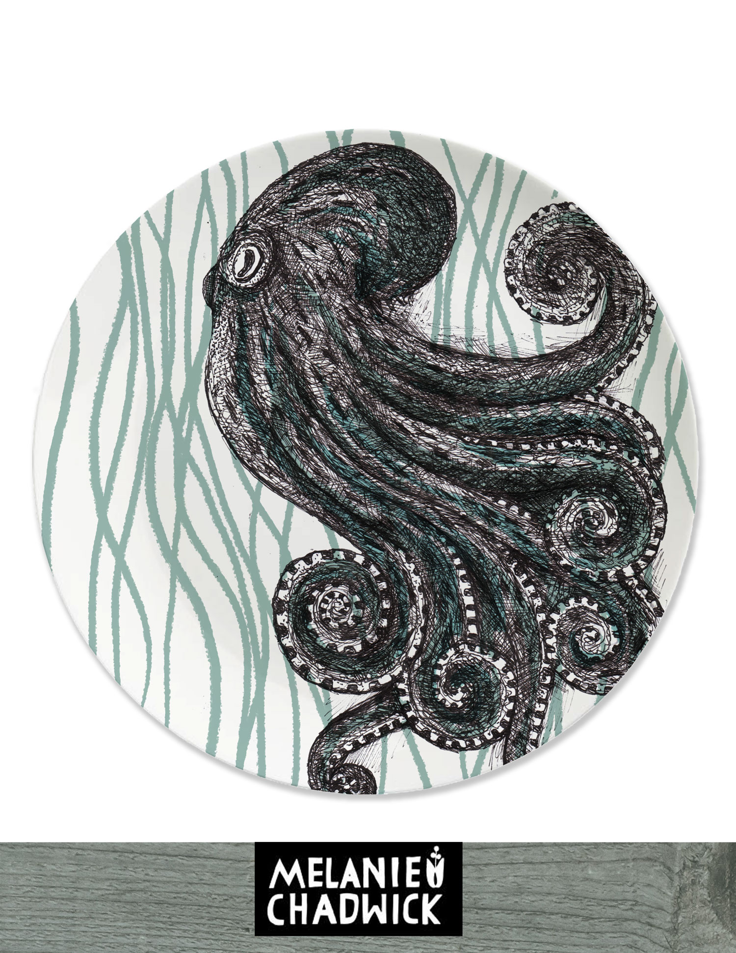 Octopus-Plate